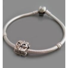 """Серебряная бусина """"Подарок"""" 12 бр-3100518"""