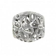 Серебряная бусина ЮМ-3952