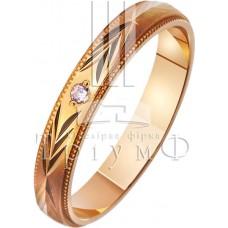 Обручальное кольцо 412107к