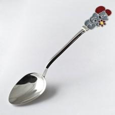 Серебряная ложка Мишка Teddy ЮМ-9024