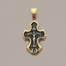 Серебряный крест ЛЗ-34029пч