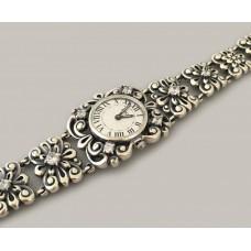Серебряные часы БР-10057