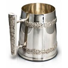 Серебряная кружка пивная ХЮ-080218