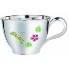 """Срібна чашка """"Бабка"""" ХЮ-080344"""