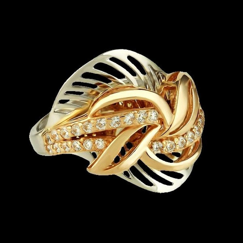 Золотое кольцо аг-111165