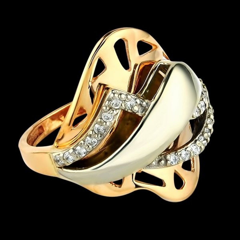 Золотое кольцо аг-111207