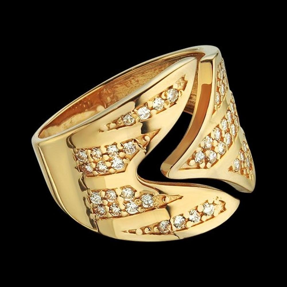 Золотое кольцо аг-111509
