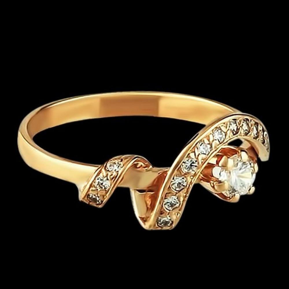 Золотое кольцо аг-1710242