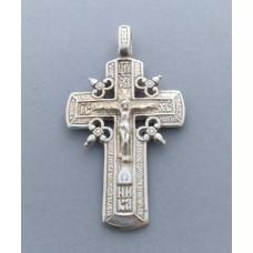 Срібний хрестик БК-175