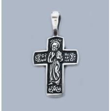 Срібний хрестик БК-185