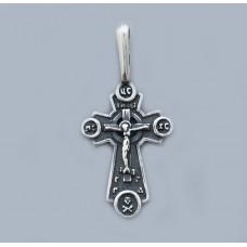 Срібний хрестик БК-193
