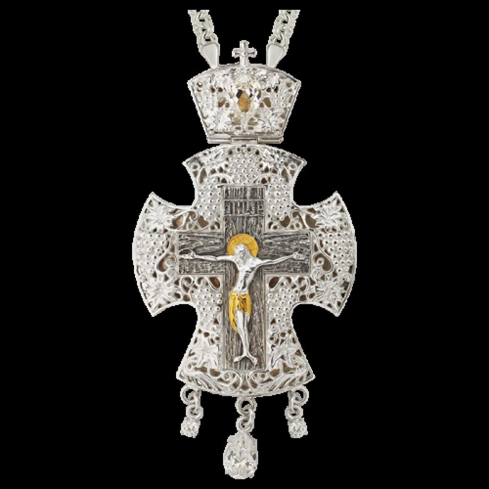 Крест наперсный латунный 2.10.0120Л1Л