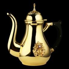 Чайник для теплоты латунный с ручкой аг-2.7.0829ЛП