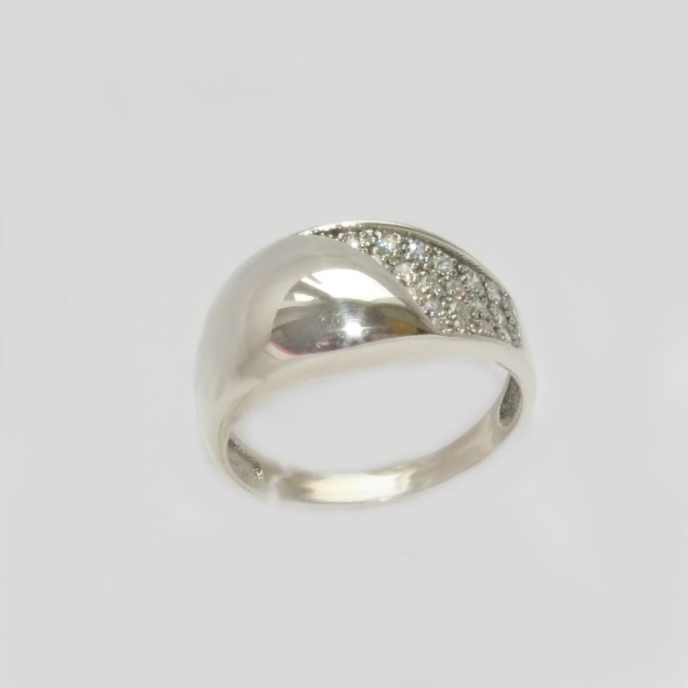 Серебряное кольцо бр-12222