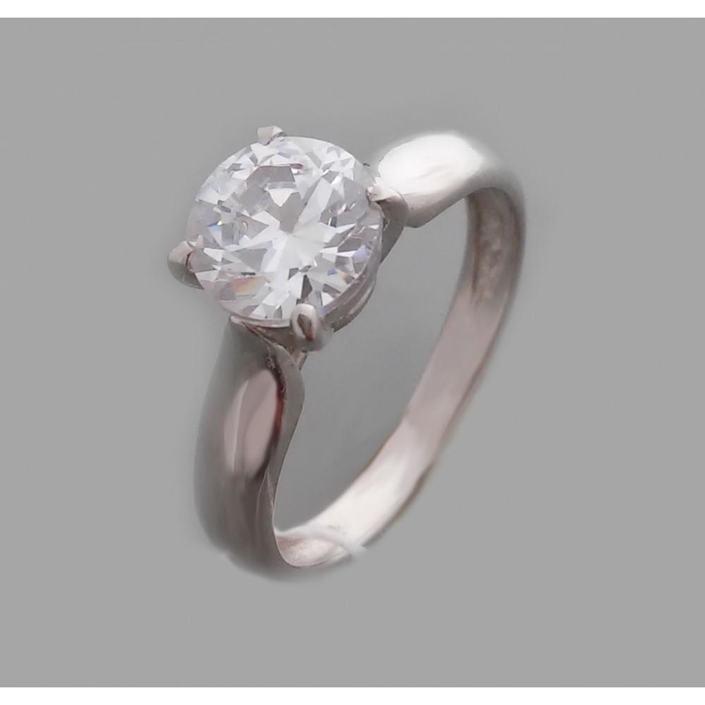 Серебряное кольцо бр-2113119