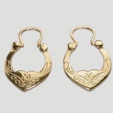 Золотые серьги Цыганские дс-30020