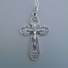 Срібний хрестик бр-3100439