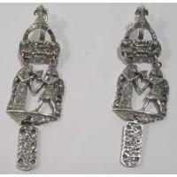 Срібні сережки Єгипет бр-1100084