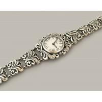 Серебряные часы БР-10054