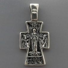 Крест серебряный 089447