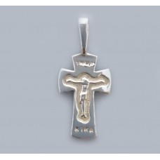Срібний хрестик БК-180