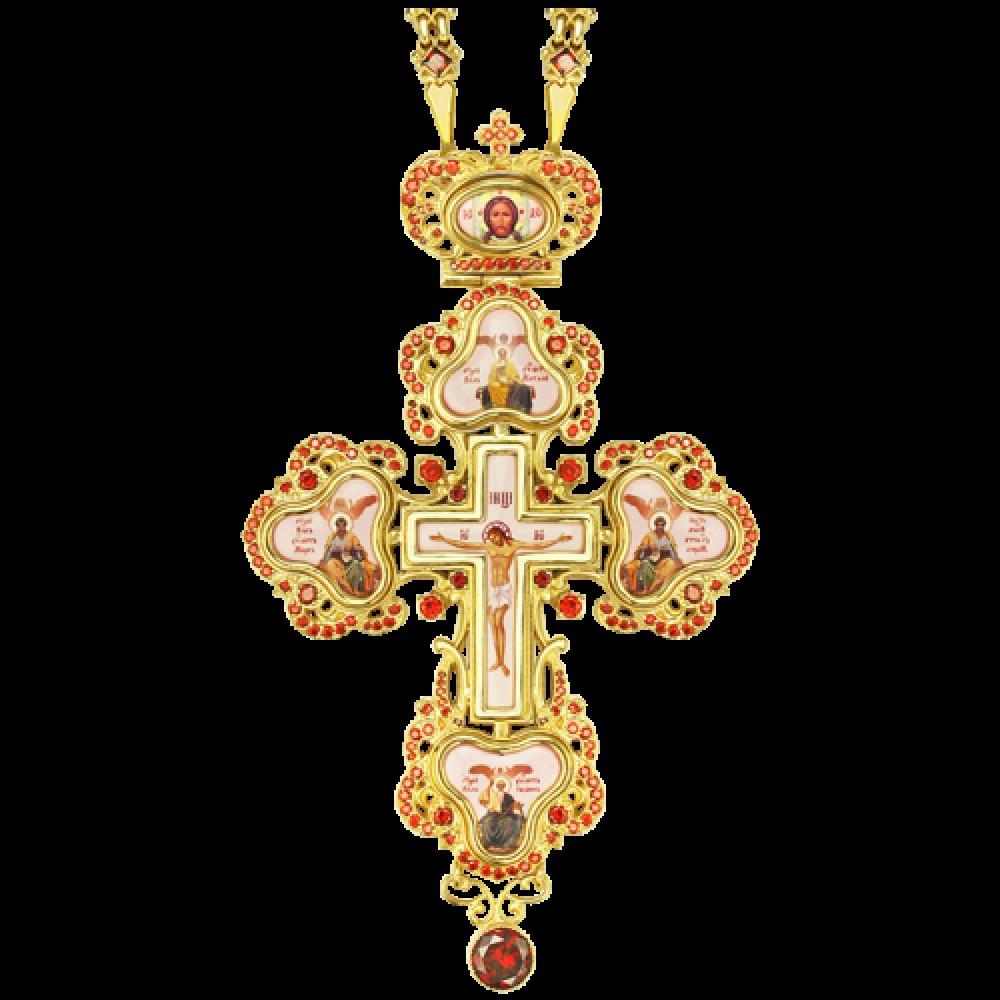 Крест наперсный латунный 2.10.0127ЛП-252ЛП