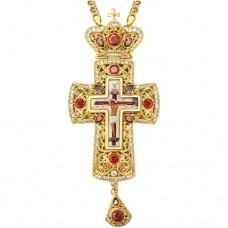 Крест наперсный латунный 2.10.0143ЛП-21ЛП