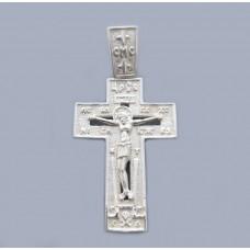 Срібний хрестик БК-201