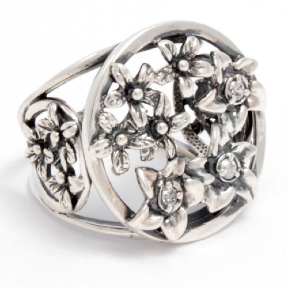 Серебряное кольцо бр-2111790