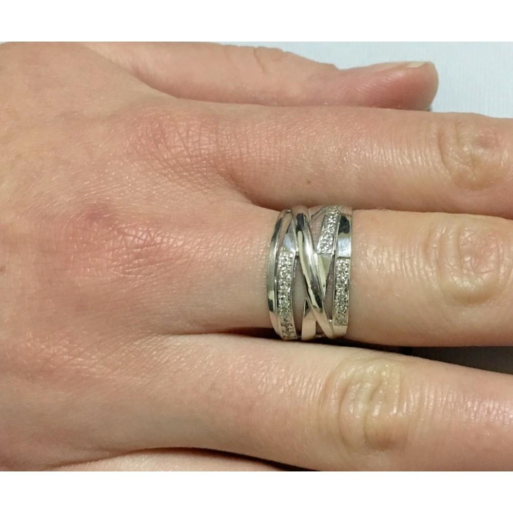 Серебряное кольцо бр-1370121