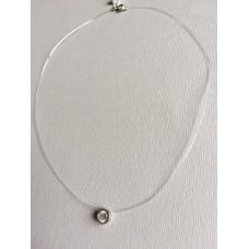 Серебряная Капелька на силиконе ЮМ-6122