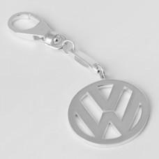 "Серебряный брелок ""Volkswagen"" (Фольксваген) 8086"