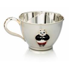 Серебряная чашка детская Панда ХЮ-0700755000