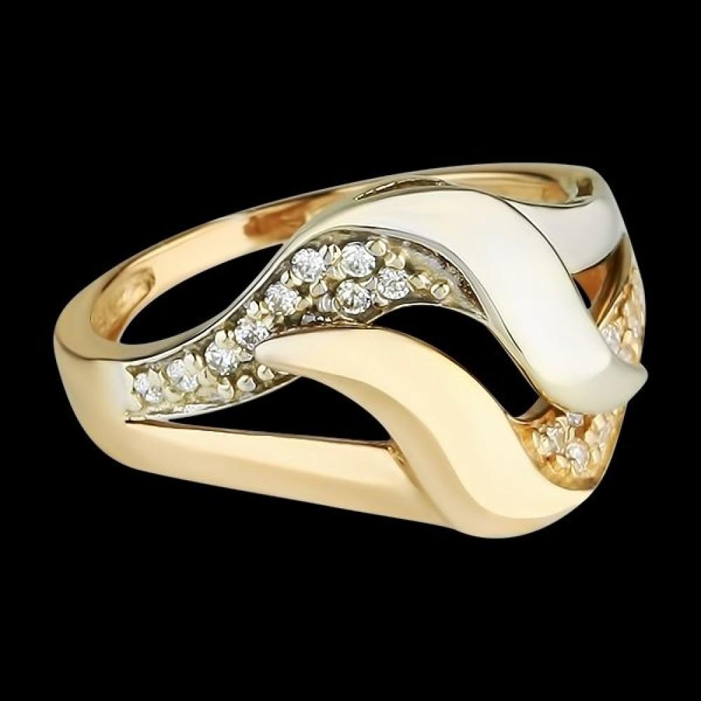 Золотое кольцо аг-111229