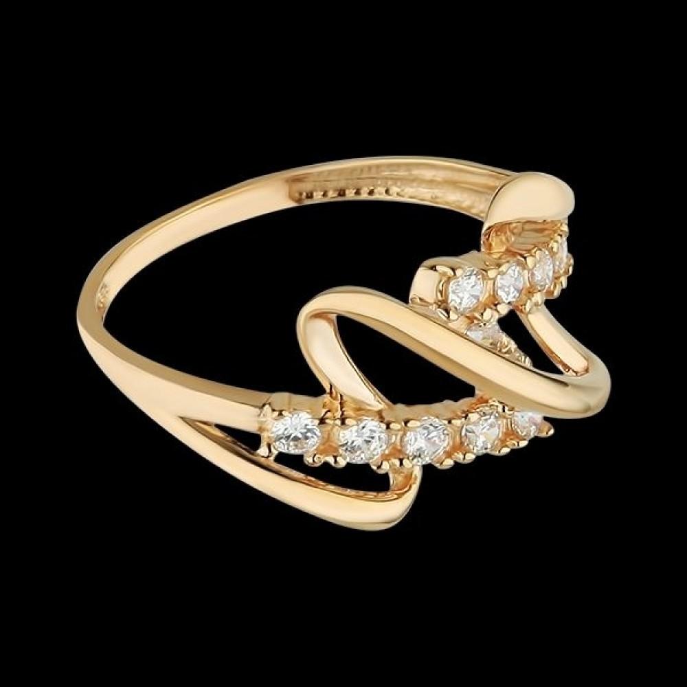 Золотое кольцо аг-111299