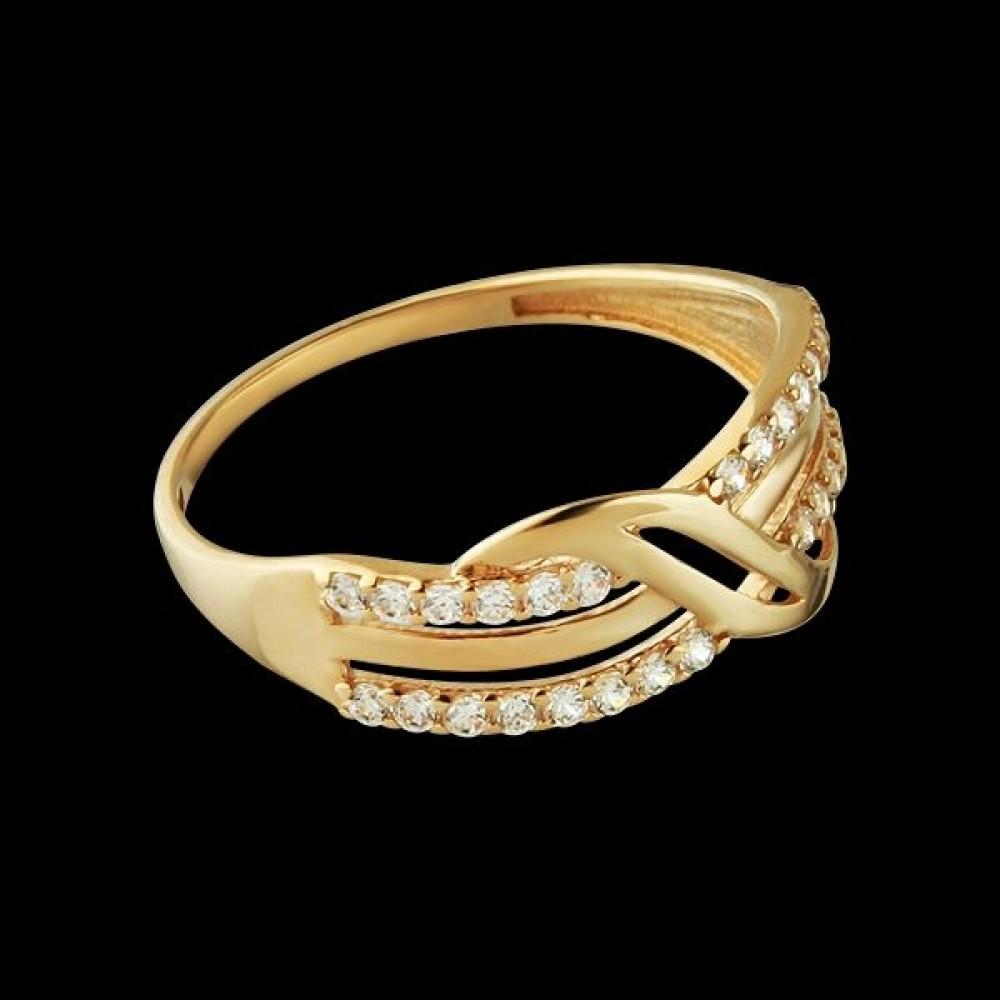 Золотое кольцо аг-1710337