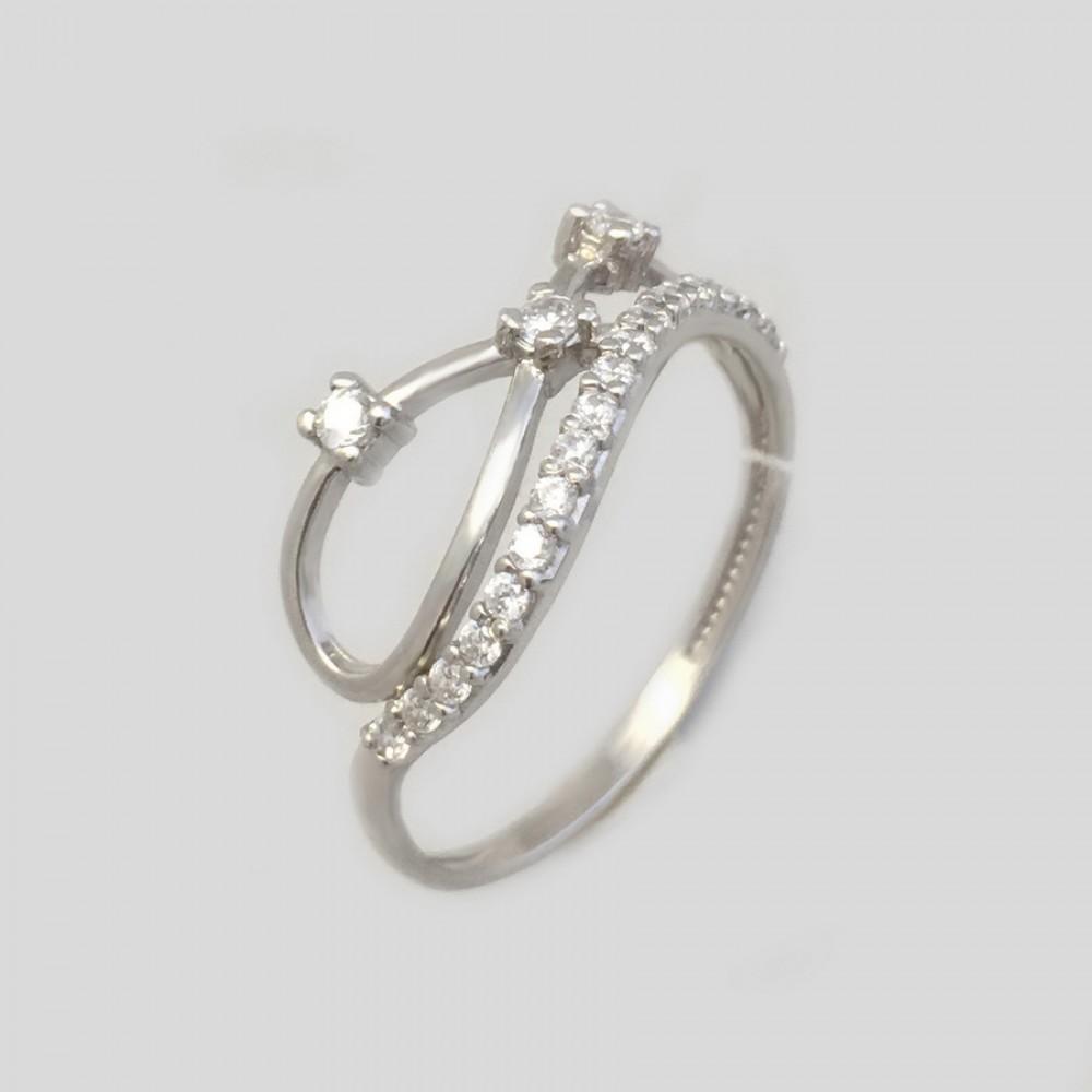 Серебряное кольцо ЛЗ-19061