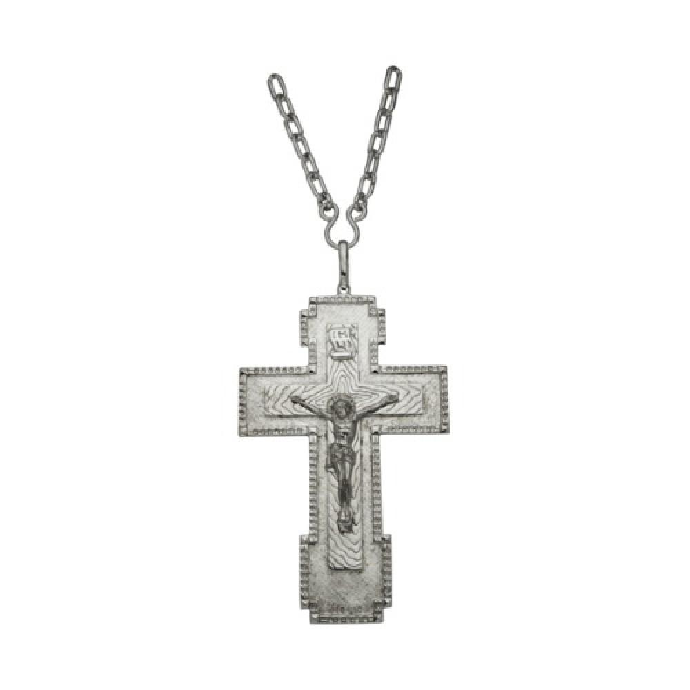 Крест Иерейский №1 латунный 2.10.0008Л