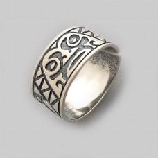 Серебряное кольцо бр-0058621