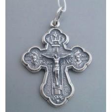 Срібний хрестик бр-3100422