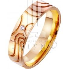 Обручальное кольцо 412736к