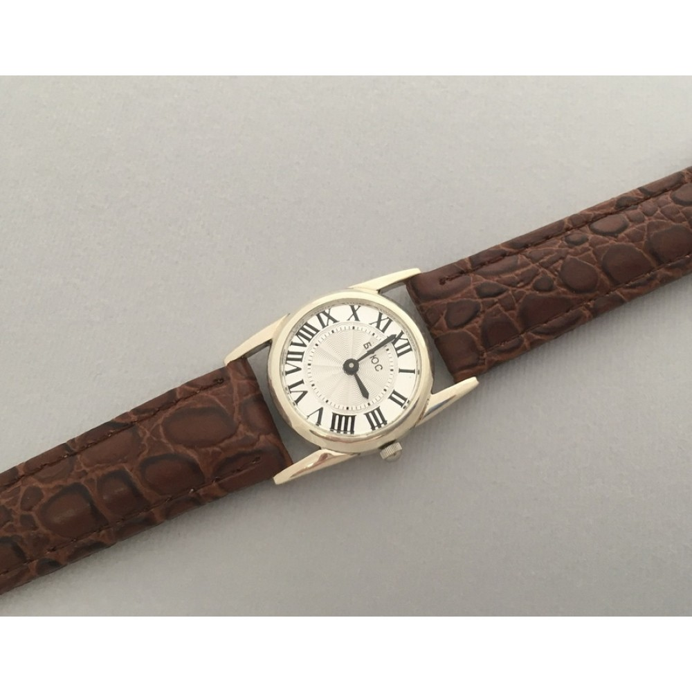 Серебряные часы бр-7100038