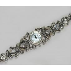 Часы серебряные 925 пробы бр-10031