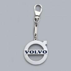 "Серебряный брелок ""Volvo"" (Вольво) 8125"