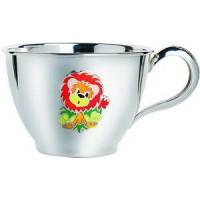 """Срібна чашка """"Левеня"""" ХЮ-080492"""