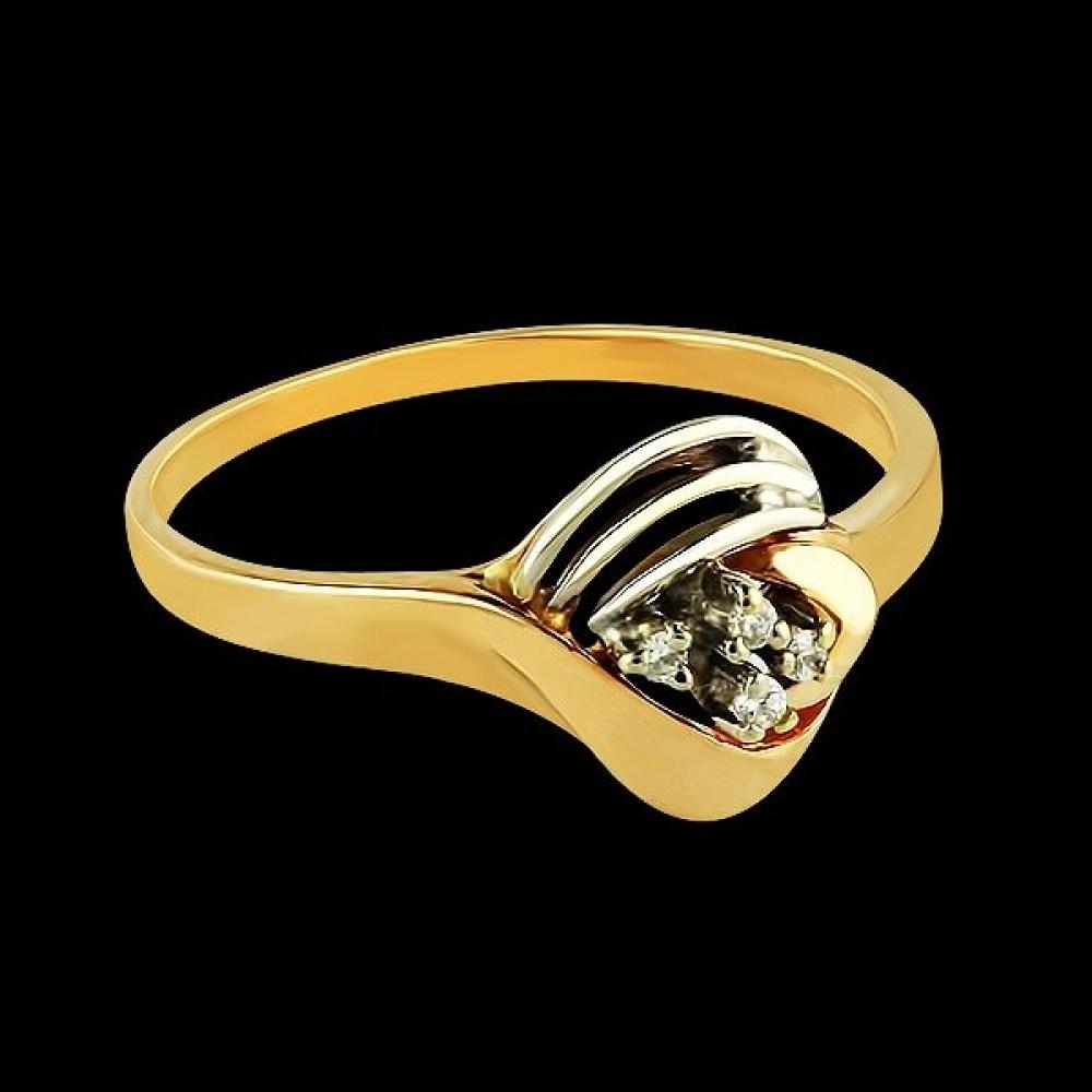 Золотое кольцо аг-111146