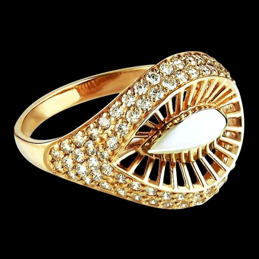 Золотое кольцо аг-111168