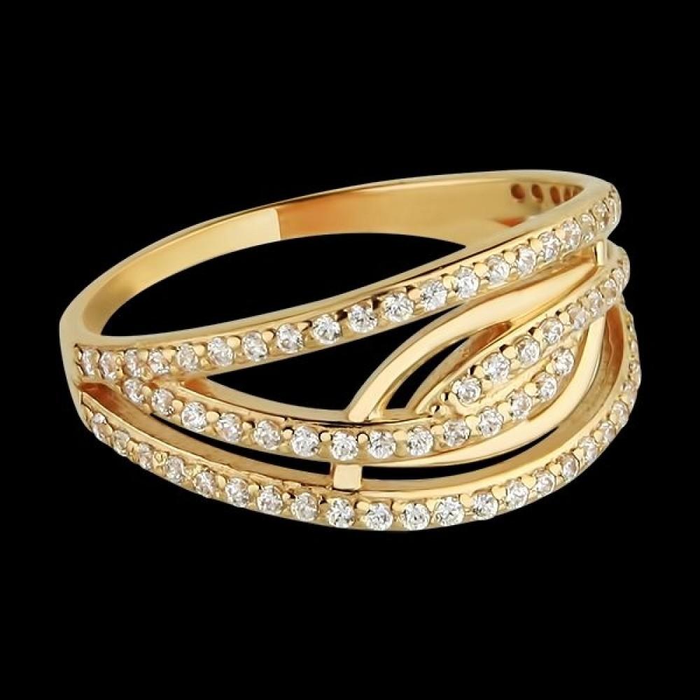 Золотое кольцо аг-111256