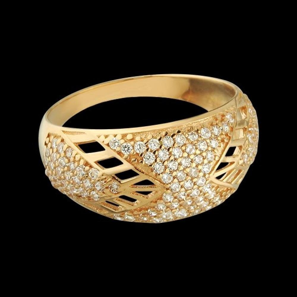 Золотое кольцо аг-111306