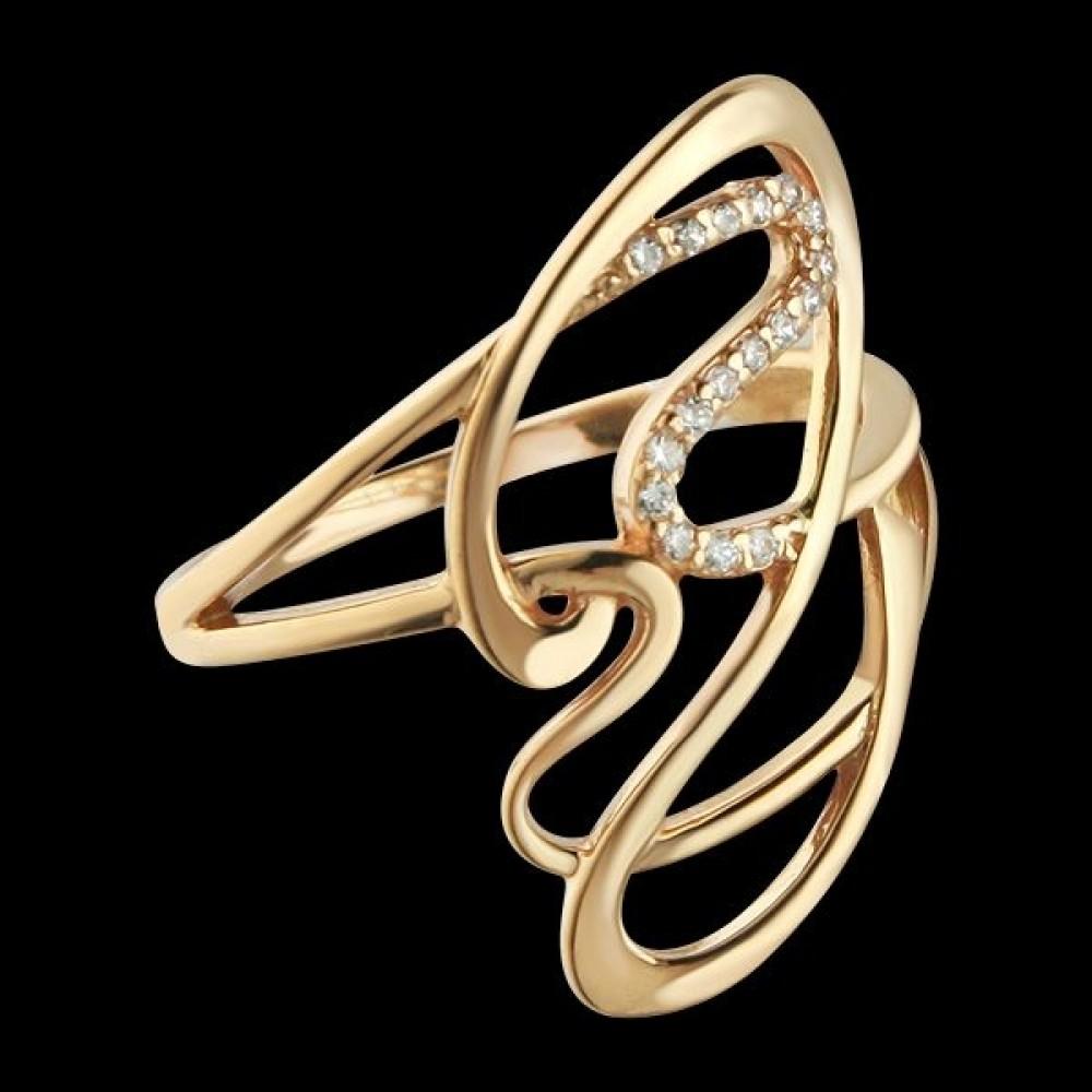 Золотое кольцо аг-111404
